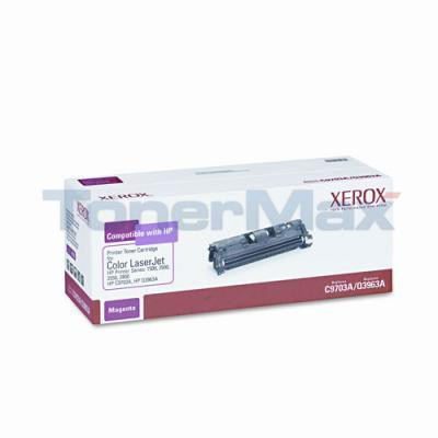 XEROX HP CLJ 1500 TONER CART MAGENTA C9703A/Q3963A